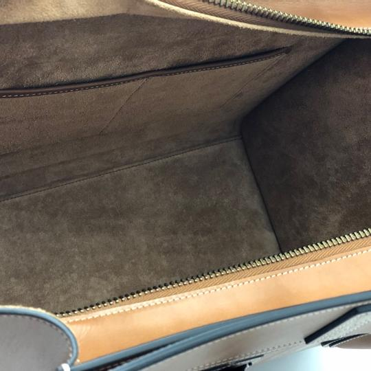 Céline Luggage Luggage Tote in Tan Camel Image 5