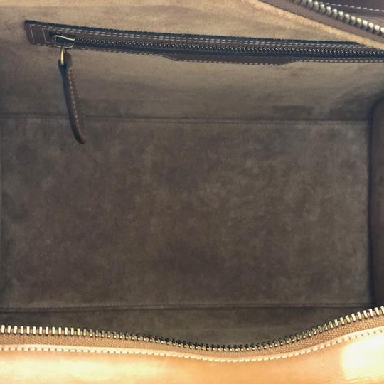 Céline Luggage Luggage Tote in Tan Camel Image 6