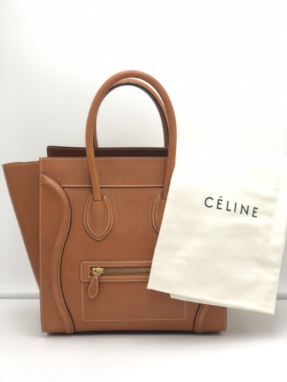 Céline Luggage Luggage Tote in Tan Camel Image 8