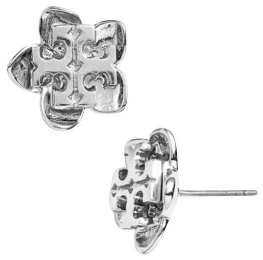 Tory Burch Tory Burch * Silver Cecily Flower Earrings Image 2