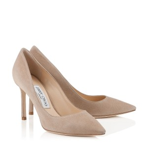 Jimmy Choo Nude, Beige Pumps