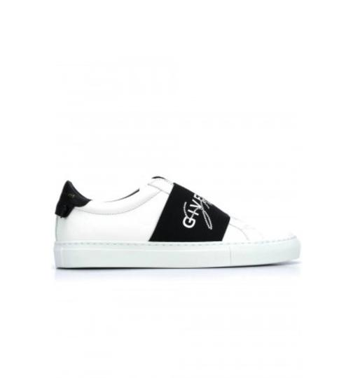 Preload https://img-static.tradesy.com/item/26022966/givenchy-white-black-gr-new-urban-street-paris-elastic-strap-sneakers-size-eu-36-approx-us-6-regular-0-0-540-540.jpg
