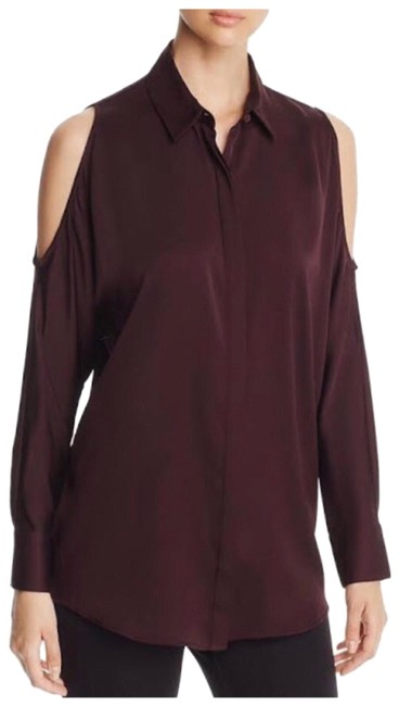 Preload https://img-static.tradesy.com/item/26022985/donna-karan-purple-cold-shoulder-stretch-silk-blouse-size-2-xs-0-1-650-650.jpg