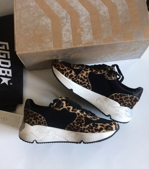 Golden Goose Deluxe Brand Leopard Athletic Image 8
