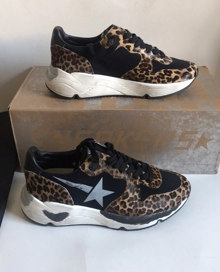 Golden Goose Deluxe Brand Leopard Athletic Image 9