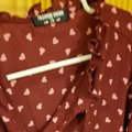 ASOS Top Cranberry with Pink Hearts Image 5