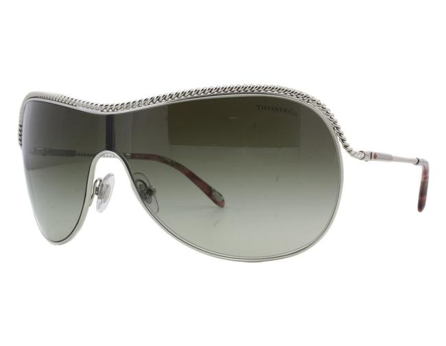 Tiffany & Co. Silver Tf3040b 6085/3m Single Lens Italy Sunglasses Tiffany & Co. Silver Tf3040b 6085/3m Single Lens Italy Sunglasses Image 1