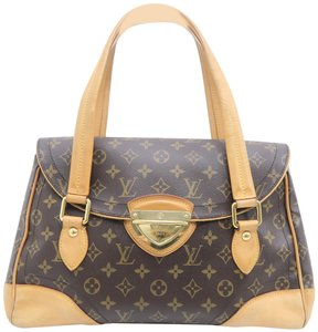 Louis Vuitton Lv Beverly Monogram Gm Canvas Shoulder Bag