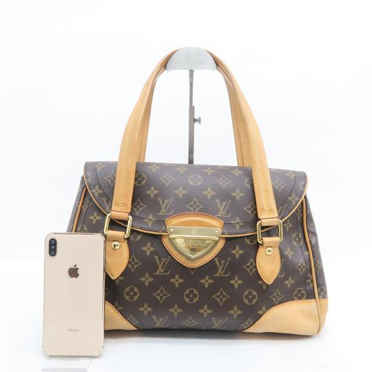 Louis Vuitton Lv Beverly Monogram Gm Canvas Shoulder Bag Image 1
