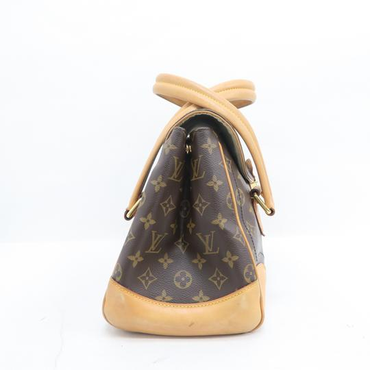 Louis Vuitton Lv Beverly Monogram Gm Canvas Shoulder Bag Image 3