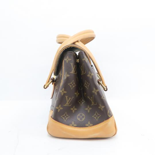 Louis Vuitton Lv Beverly Monogram Gm Canvas Shoulder Bag Image 4