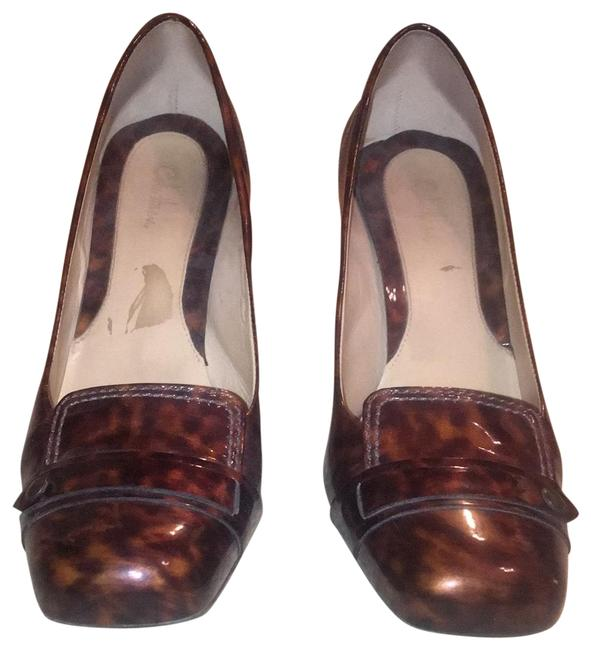 Cole Haan Brown and Tan Speckled D25343 Pumps Size US 9.5 Regular (M, B) Cole Haan Brown and Tan Speckled D25343 Pumps Size US 9.5 Regular (M, B) Image 1