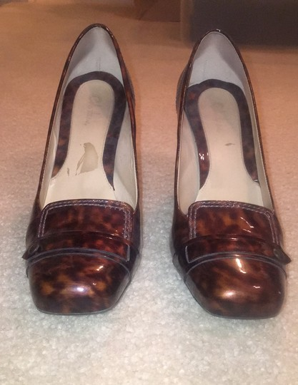 Cole Haan Brown and tan speckled Pumps Image 1