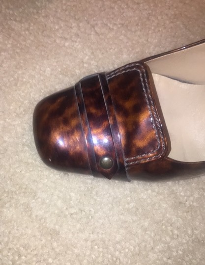 Cole Haan Brown and tan speckled Pumps Image 2