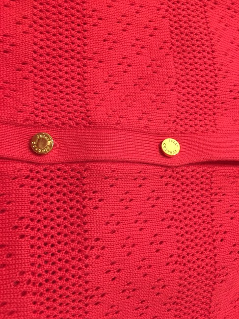 Juicy Couture Cotton Gold Buttons Embellished Sweater Image 3