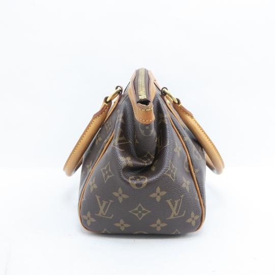 Louis Vuitton Lv Tivoli Pm Monogram Monogram Tote in Brown Image 3