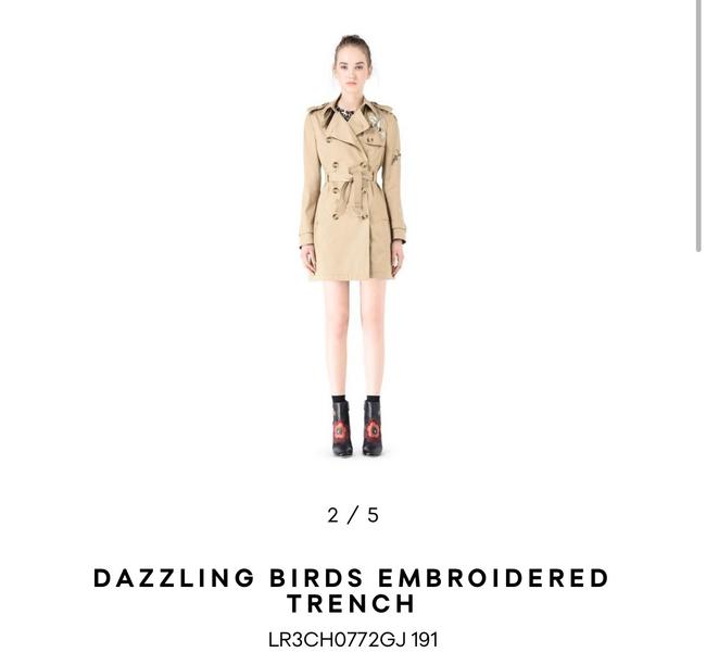 RED Valentino Trench Coat Image 1