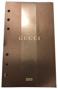 Gucci Gucci notebook agenda pages