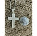 Harlembling Harlembling 925 Silver Cross Pendant Bust Down Crucifix Necklace Image 7