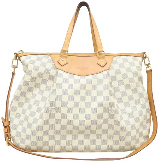 Preload https://img-static.tradesy.com/item/26023176/louis-vuitton-siracusa-gm-white-damier-azur-canvas-satchel-0-3-540-540.jpg
