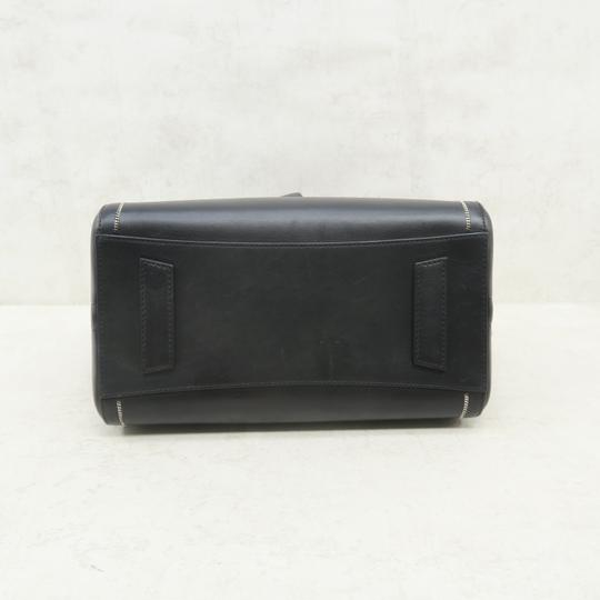 Givenchy Antigona Calfskin Leather Small Satchel in Black Image 4