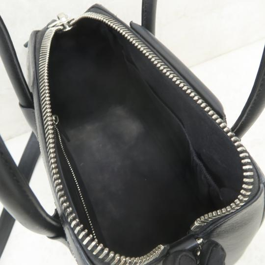 Givenchy Antigona Calfskin Leather Small Satchel in Black Image 9