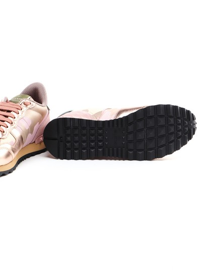 Valentino Pink gold Athletic Image 2