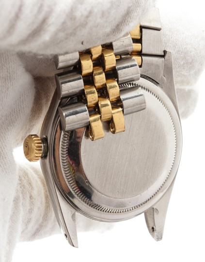 Rolex Rolex 2 Tone Stainless Steel Yellow Gold Datejust Watch Ref 16233 Image 2