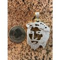 Harlembling Harlembling Solid 925 Silver Ghost Cut Out Jesus Piece Image 7