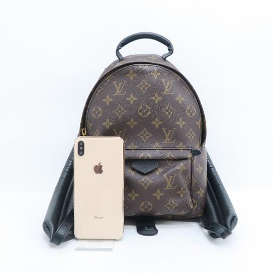 Louis Vuitton Lv Monogram Canvas Palm Springs Backpack Image 1