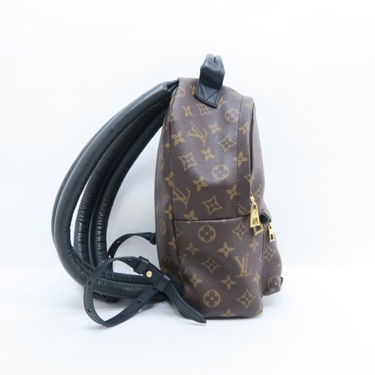 Louis Vuitton Lv Monogram Canvas Palm Springs Backpack Image 3