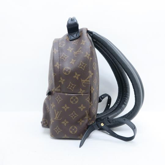Louis Vuitton Lv Monogram Canvas Palm Springs Backpack Image 4