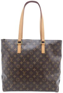 Louis Vuitton Lv Monogram Mezzo Cabas Shoulder Bag