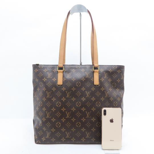 Louis Vuitton Lv Monogram Mezzo Cabas Shoulder Bag Image 1