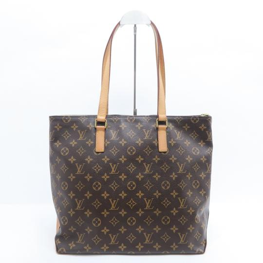 Louis Vuitton Lv Monogram Mezzo Cabas Shoulder Bag Image 2