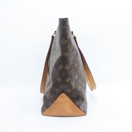 Louis Vuitton Lv Monogram Mezzo Cabas Shoulder Bag Image 3