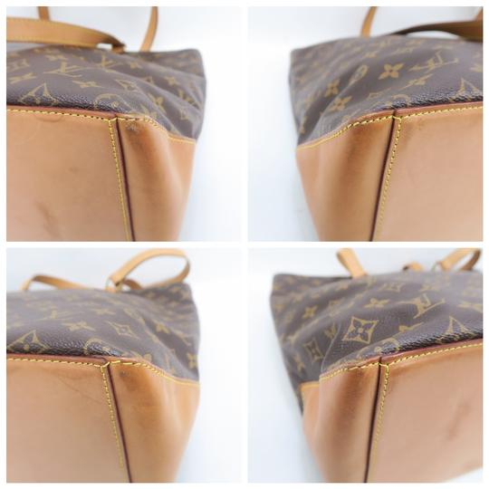 Louis Vuitton Lv Monogram Mezzo Cabas Shoulder Bag Image 6