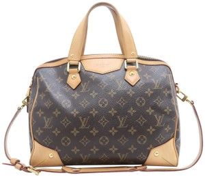 Louis Vuitton Lv Retoro Monogramn Pm Satchel in Brown