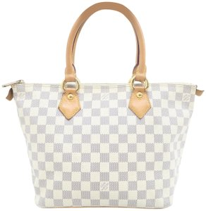 Louis Vuitton Lv Saleya Pm Canvas Tote in White