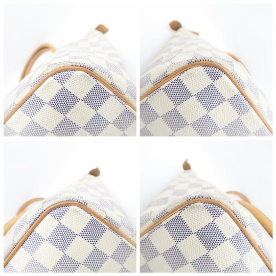 Louis Vuitton Lv Saleya Pm Canvas Tote in White Image 6
