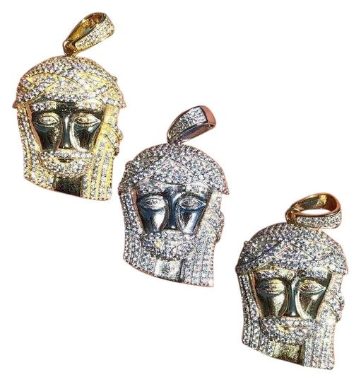 Preload https://img-static.tradesy.com/item/26023449/silver-gold-14k-hip-hop-solid-925-jesus-piece-pendant-charm-0-1-540-540.jpg