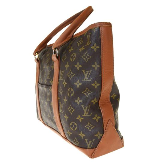 Louis Vuitton Made In France Brown Travel Bag Image 1