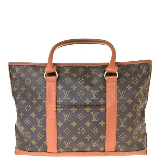 Louis Vuitton Made In France Brown Travel Bag Image 2