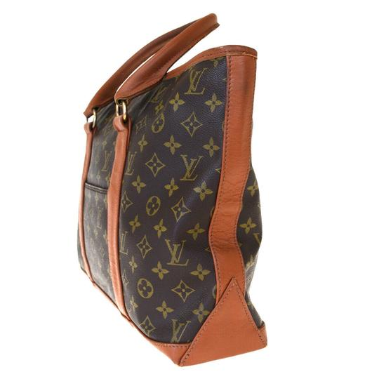 Louis Vuitton Made In France Brown Travel Bag Image 3