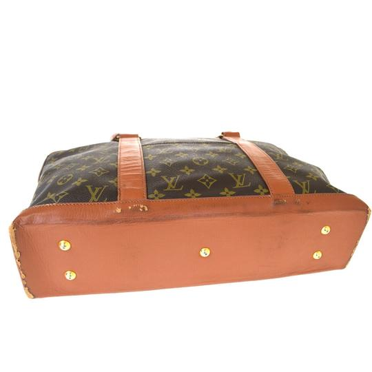 Louis Vuitton Made In France Brown Travel Bag Image 4