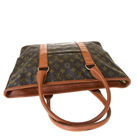 Louis Vuitton Made In France Brown Travel Bag Image 5