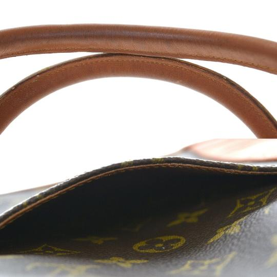 Louis Vuitton Made In France Brown Travel Bag Image 7