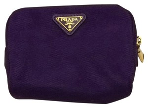 Prada Canvas Cosmetic Pouch