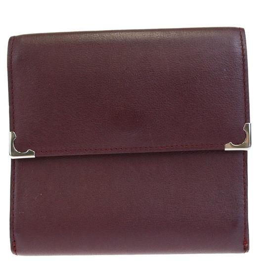 Preload https://img-static.tradesy.com/item/26023538/cartier-bordeaux-must-de-2c-logos-bifold-purse-leather-wallet-0-0-540-540.jpg
