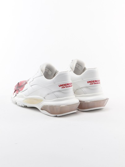 Valentino White red Athletic Image 3